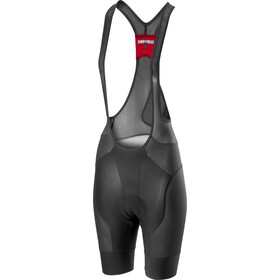 Castelli Free Aero Race 4 Bib Shorts Dames, dark grey